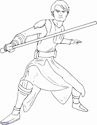 Coloriage Star Wars Luke Skywalker Unique Ungewöhnlich Anakin