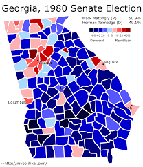 Midterm Election Map by The Winds Of Change In Georgia Part 2 The Politikal Blog