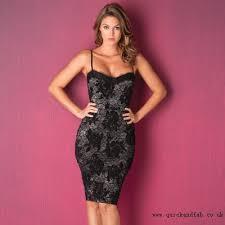 glamorous clothing lipsy keegan flocked dress women s glamorous clothing
