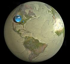 how much water is there on earth from the usgs water science