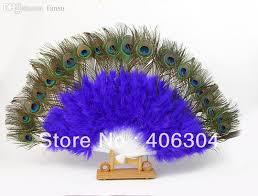 peacock feather fan 2017 wholesale peacock feather fan belly fan props peacock