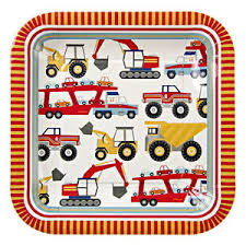 construction party supplies construction party paper plates big rig construction birthday