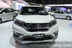 lexus rx vs honda crv 2015 honda cr v front modulo at the 2014 thailand international
