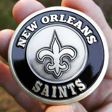 saints nfl gifts nfl collectibles nfl coins golf marker