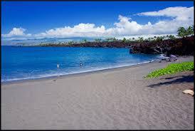 49 black sand beach the only black sand beach on the kona coast