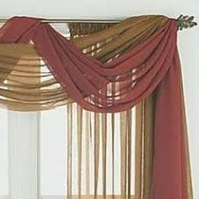 Curtain Drapes Ideas 1000 Ideas About Window Scarf On Sheer Curtain Panels