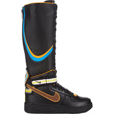 lyst nike s air 1 rt boots in black