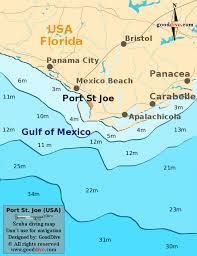 port st fl map port st joe map gooddive com