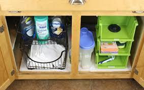Bathroom Cabinet Storage Ideas Kitchen Organizer Under Kitchen Sink Organizer The Organization