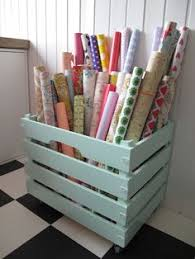 how to store wrapping paper and gift bags 50 brilliant easy cheap storage ideas lots of tips and tricks