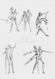 dancing couple sketches by shagatta on deviantart