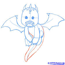 image gallery of cute dragon drawing
