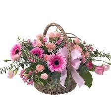basket arrangements the flower corner country church craft mall flower arrangements