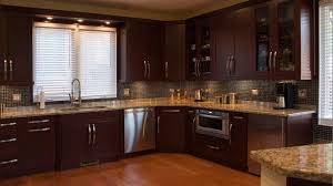 cherry wood kitchen cabinets photos dark cherry wood kitchen cabinets beige granite kitchen