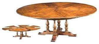 expanding circular dining table expanding round table expanding round dining table throughout