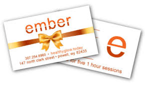 5 gift card 5 session sauna gift card ember infrared light therapy