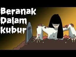 film kartun anak hantu lucu kartun lucu beranak dalam kubur kartun hantu animasi indonesia