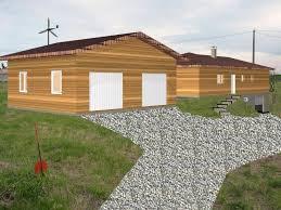 maison ossature bois réf 30042 près de grenade en haute garonne