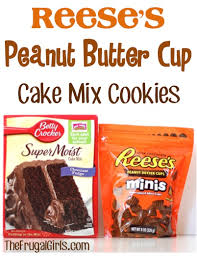 reese u0027s peanut butter cup cake mix cookies recipe these cookies