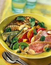 cuisine provencale recette recette escabèche de rougets et légumes grillés