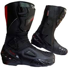 motorcycle footwear mens sports boots
