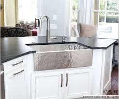 what is a farmhouse sink custom stainless steel sinks usa made havens metal