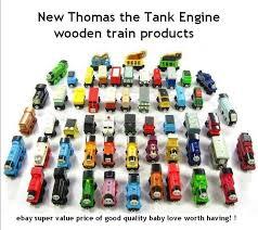 baby gift 10 pcs thomas wooden train car