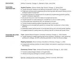 resume exle for students literarywondrous math tutor resume exles free