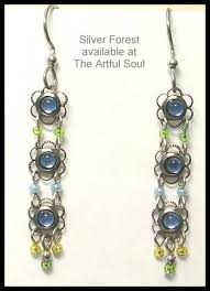 silver forest earrings silver forest jewelry at the artful soul