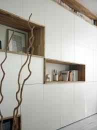 besta ikea cabinet mur rangements blanc bois scandinave bibliothèque pinterest