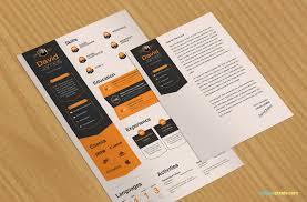corporate designers u0027 resume template u0026 cover letter 3 colors in psds