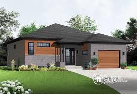 split level garage house plan w3281 detail from drummondhouseplans