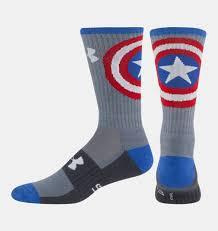 men u0027s armour alter ego captain america socks armour
