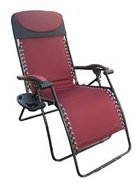 Rocking Recliner Garden Chair Amazon Com Deluxe Big U0026 Tall Outdoor Recliner Fully Padded For