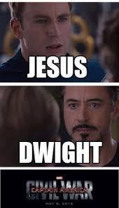 Dwight Meme Generator - meme creator jesus dwight meme generator at memecreator org