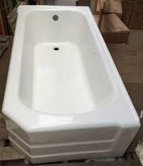Double Apron Bathtub Standard U201d U201cpembroke U201d Right Wall Cast Iron Art Deco Style Apron Tub