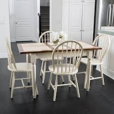 Noble House Dining Chairs Noble House Hendricks Expandable 5 Piece Dining Set Walmart Com
