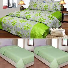 top bed sheets buy 1 cotton double bedsheet with 2 pillow covers u0026 get 1 set of 2