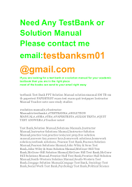 auditing a practical approach 2 e test bank and solutions manual