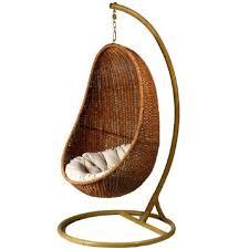 siege boule suspendu fauteuil boule rotin fashion designs