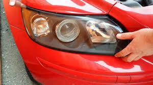 how to replace front headlight headlamp light bulbs on a 2004 2005