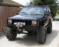 jeep cherokee rear bumper blank
