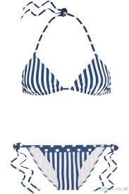 Dolce  Gabbana Beachwear Christmas Striped Triangle Bikini Clothing