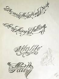 tattoo script 2 by stevenworthey on deviantart