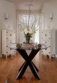 faux floral arrangements lakeside townhouse contemporary entry miami by adelene