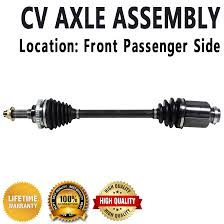 front right passenger side cv joint axle drive shaft for kia