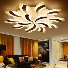 led home interior lighting modern led home ceiling l commercial decoration led