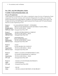 Sample Resume For Environmental Services by Resume Anil Pereira 1