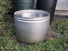 Washing Machine Firepit How To Make A Washing Machine Drum Firepit Hunker