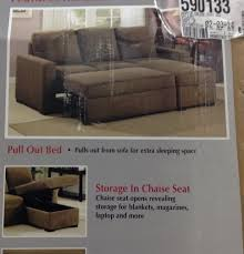 furniture costco couch sectional with recliner sleeper sofa